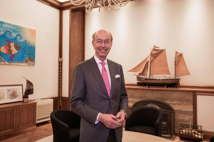 Bas Eenhoorn is sinds december vorig jaar waarnemend burgemeester in Vlaardingen.