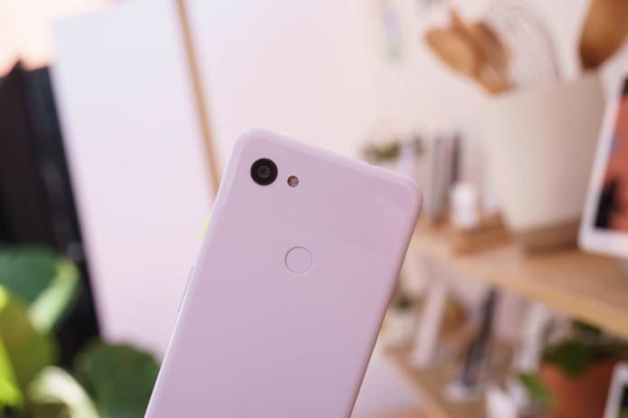 De camera van de Pixel 3a