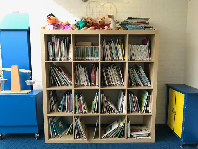In de Jan Wouter van den Doelschool staan wel mini-bibliotheken.