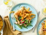 Wat Eten We Vandaag: Gekonfijte kippenpoten met frieten