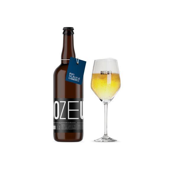 Het biertje Dozeur is een cadeau voor de werknemers van Pattyn.