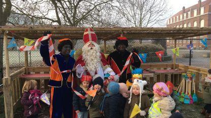 Sint-Benedictus krijgt 'modderkeuken' van Sinterklaas
