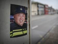 Mysterieuze stickers Kim Jong-un als agent duiken op in Doetinchem