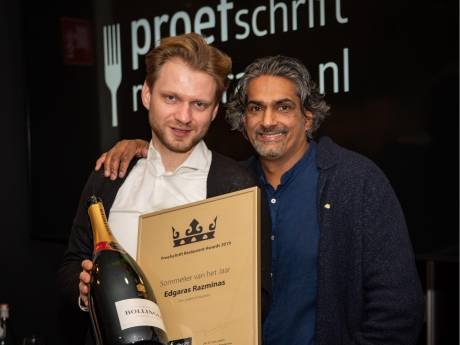 Litouwse gastheer restaurant De Lindehof Nuenen uitgeroepen tot sommelier van het jaar