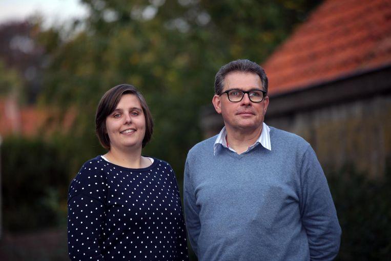 Peter Desmet en zijn dochter Margot.