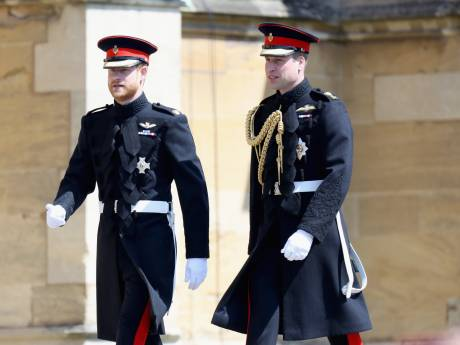 "Le prince William ""inquiet"" pour son frère Harry"