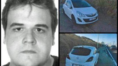 Kevin Matagne (27) al meer dan een jaar vermist. Zijn wagen werd teruggevonden in Oostende, op 230 kilometer van huis