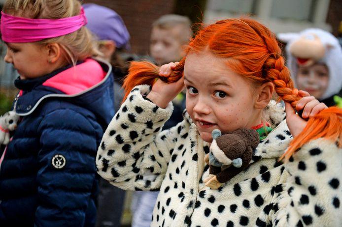 Pippi Langkous blijft populair bij de jeugd, ook in Hellendoorn.