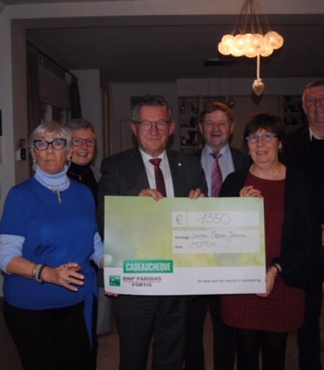 Buurtfeest van Marie-Jeanne levert 1.550 euro op