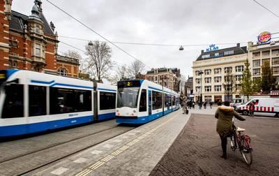 Trams rijden weer volgens regeling na kapotte bovenleiding