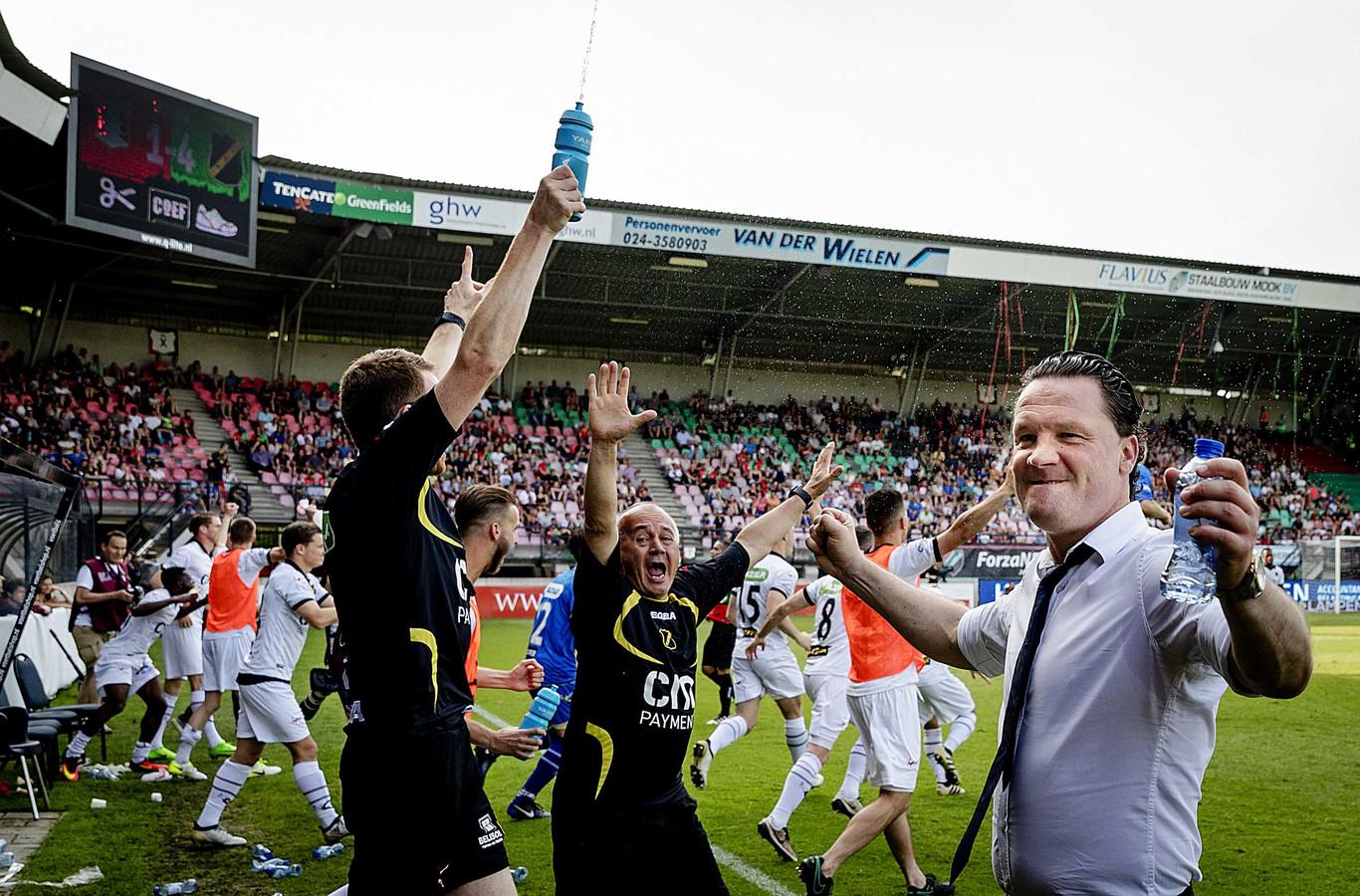 Stijn Vreven na promotie met NAC.