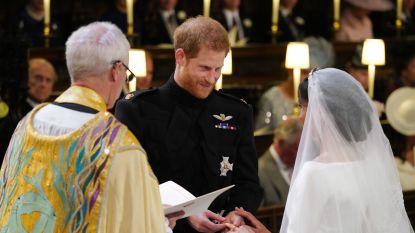 Platencontract voor koor huwelijk Harry