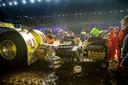 Tractorpulling is al jaren een begrip in de Zwolse IJsselhallen.