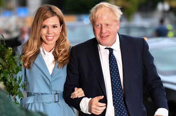 Boris Johnson met Carrie Symonds.