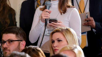 """Witte Huis onder vuur voor weren kritische CNN-journalist: """"Een nieuw dieptepunt"""""""