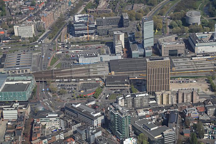 Het station in Eindhoven.