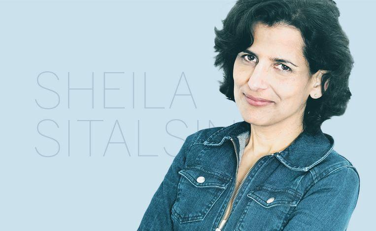 Sheila Sitalsing. Beeld