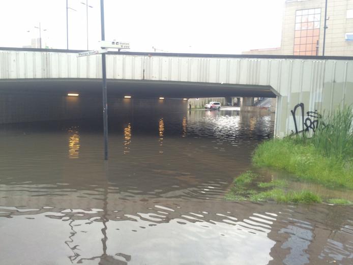 Fietstunnel bij station Eindhoven
