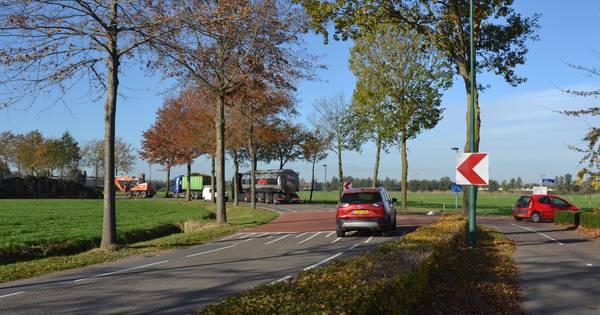 Gladde drempel zorgt voor ongevallen in Vinkel.