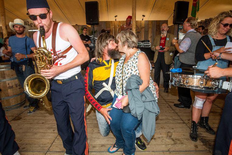 Festival Dranouter sfeer 3 august 2019 Dranouter festival Photo: Alex Vanhee Beeld Alex Vanhee