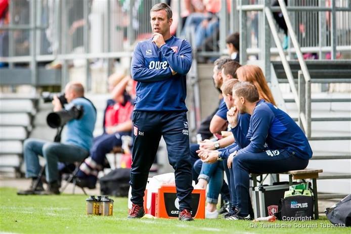 René Hake: 'Sparta is een ploeg die voetballend uitstekend in elkaar steekt'