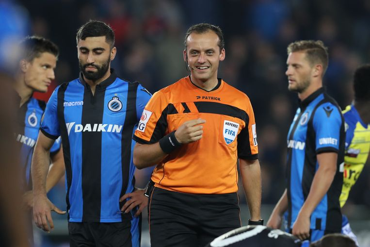 Alexandre Boucaut leidde gisteren Club Brugge - Waasland-Beveren in goede banen.