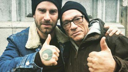 Kevin Janssens en Jean-Claude Van Damme dikke maatjes in voorbereiding van hun film 'The Bouncer'