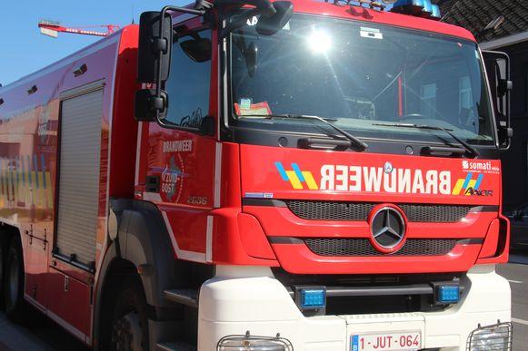 Tankwagen brandweer Aalst.