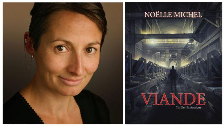 Noëlle Michel schrijft roman 'Viande' over relatie tussen mens en dier.