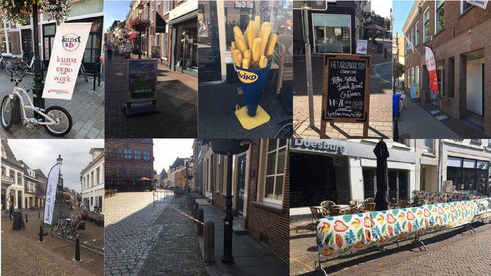 Een rondje langs alle obstakels in Doesburg, door D66 vastgelegd op de gevoelige plaat.
