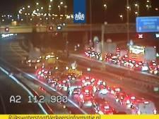 Twee ongelukken op A2 bij Den Bosch, zorgt voor veel vertraging richting Utrecht