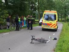 Wielrenner gewond na botsing met andere fietsers in Boxtel