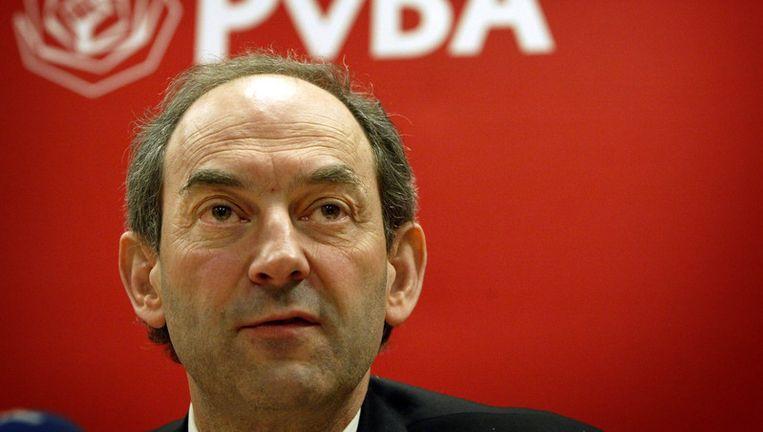 ''Ik zou blij zijn als Job Cohen zich op de een of andere manier voor de landelijke politiek beschikbaar stelt,'' zegt ook de Haagse PvdA-fractievoorzitter Bas Sepers. Foto GPD uit 2007 Beeld
