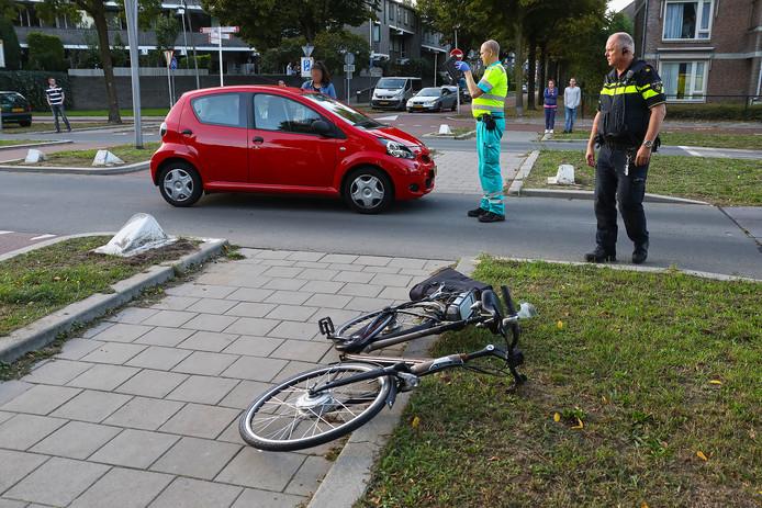 Opnieuw ongeluk op fietsstraat in Oss.
