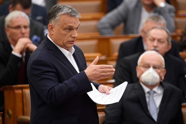 De partij van premier Viktor Orban beschikt in het Hongaarse parlement over een tweederdemeerderheid.