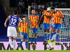 Zaza opnieuw de gevierde man bij Valencia