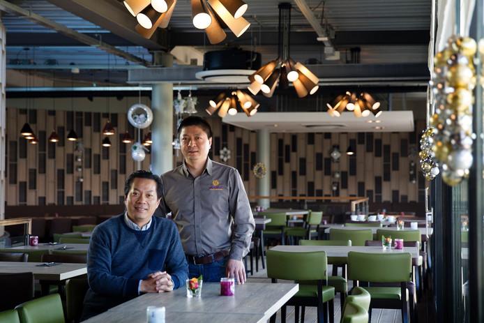 Eigenaar Lifa Shen met manager Rubing Guo.