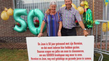 Jean en Hermine vieren 50 jaar huwelijksgeluk