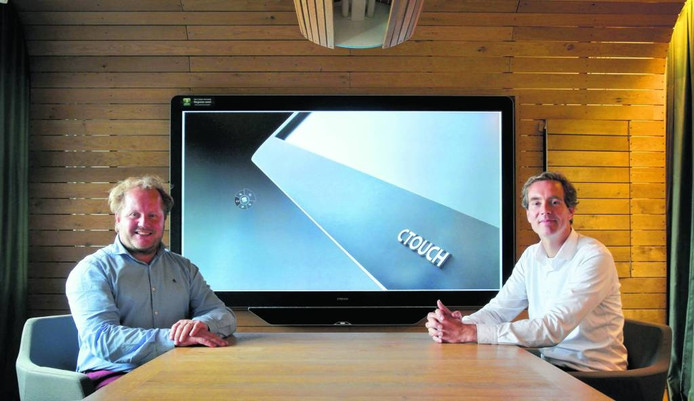 Directieleden Bernard Gosselink (links) en Remmelt van der Woude van Ctouch. Foto Jurriaan Balke/fotomeulenhof