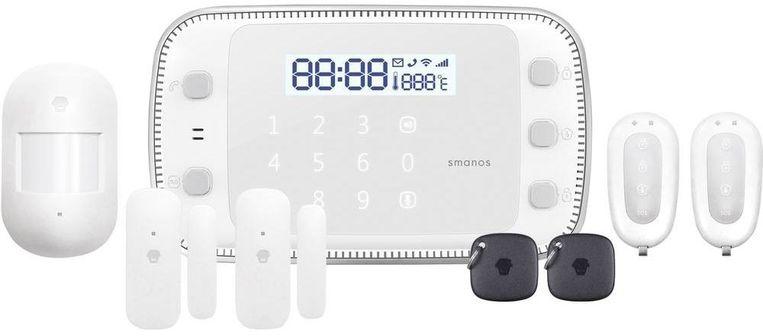 Het vaakst bekeken alarmsysteem op technologiesite Tweakers is deze startersset van Smanos.