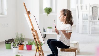 OPROEP: Kleine kunstenaar in huis? Nina zoekt kinderkunst om virtueel museum te vullen. Zet je kroost aan het werk en stuur ons hun mooiste creaties !