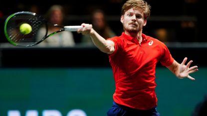 Geen Goffin in Davis Cup tegen Hongarije, focus ligt op Indian Wells en Miami
