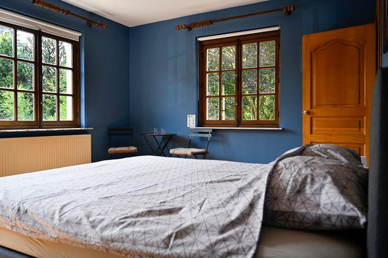 Elke kamer heeft een eigen kleur.