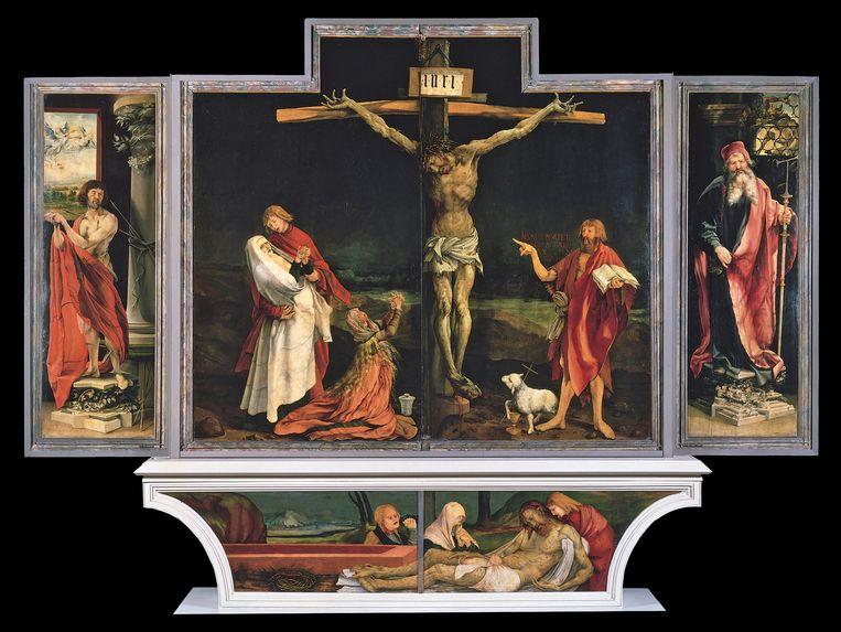Mathias Grünewald - Isenheim Altarpiece ca 1515 Beeld RV
