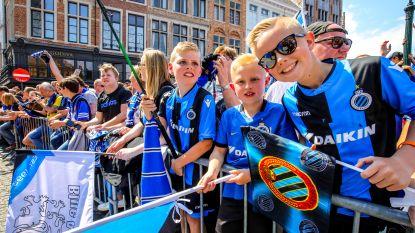 """Geen ticket voor bekerfinale? Geen nood, Club Brugge bouwt fandorp op Markt: """"En als we winnen, komen de spelers hier feesten"""""""