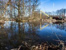 Landgoed Staverden krijgt weer schone vijvers