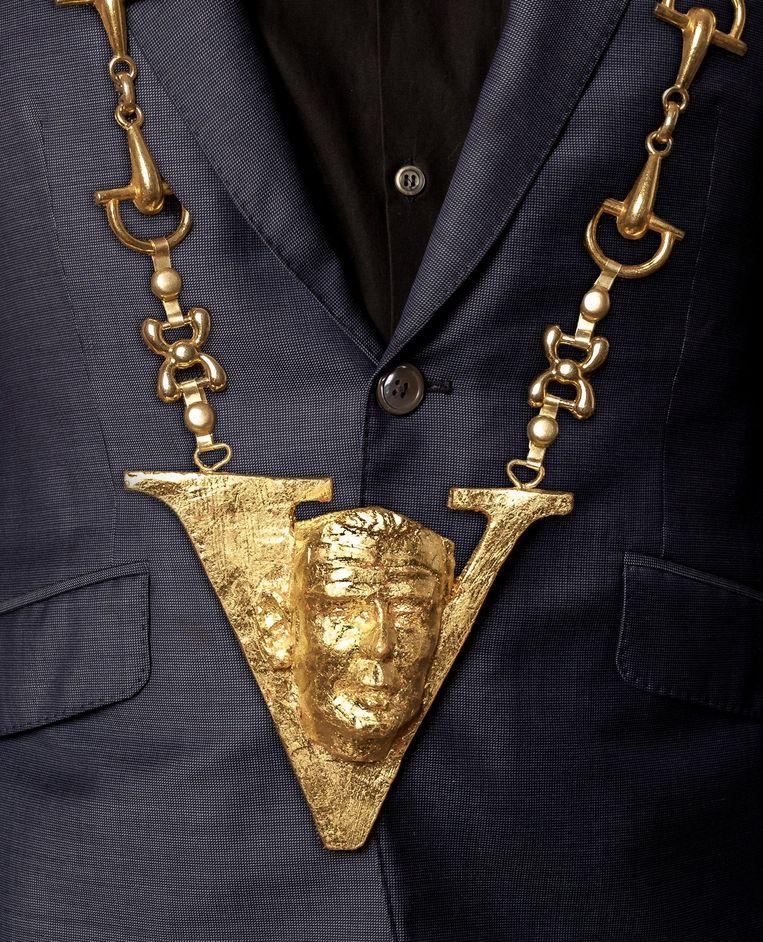 De gouden Onno. Beeld Ontwerp Marc Visser en foto Studio V