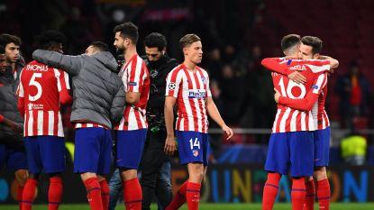 Atlético doet wat het moet doen, exit Leverkusen
