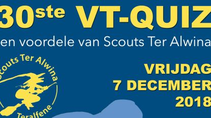 Scouts organiseren 30ste VT-Quiz