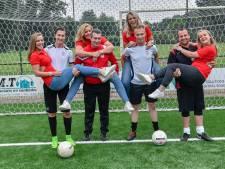 Straatvoetbal Mierlo nu voor het eerst in vrouwenhanden